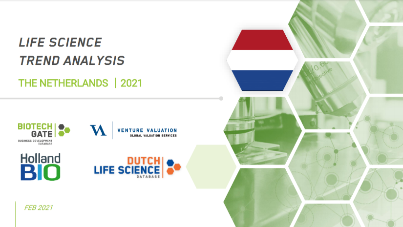 Dutch Life Sciences Trend Analysis 2021 – Biotech Companies Show To Be Resilient And See Venture Financing Grow In 2020